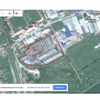Teren Parcelabil Sebes 3.45 Ha, Hale 4800 Mp, Platforma Betonata 10000 Mp, Zona Comercial/Industriala
