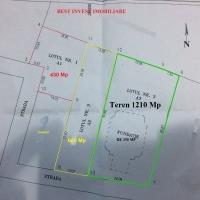 Teren Sebes 1210 Mp + Fundatie si Placa de 250 Mp, Zona Rezidentiala
